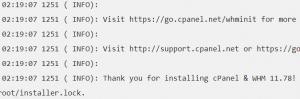 Langkah Install cPanel Di CentOS 7