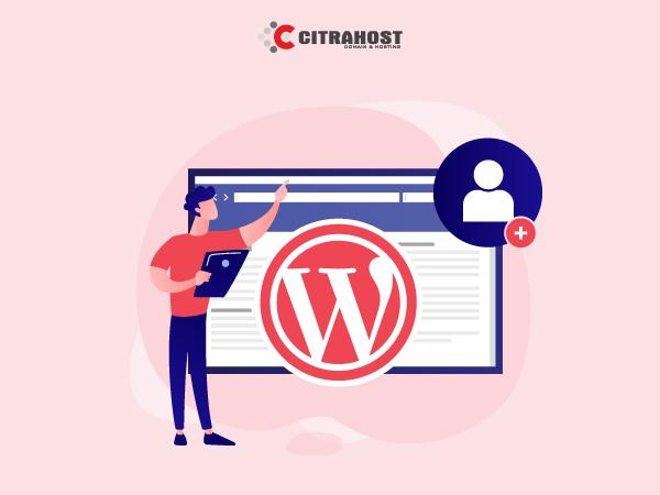 Menambah User atau Pengguna di Blog WordPress