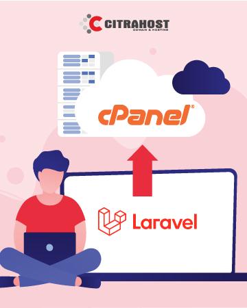 upload aplikasi laravel ke hosting cpanel